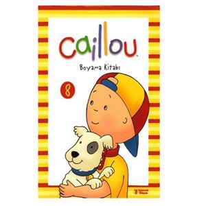 Caillou Boyama Kitabi 8