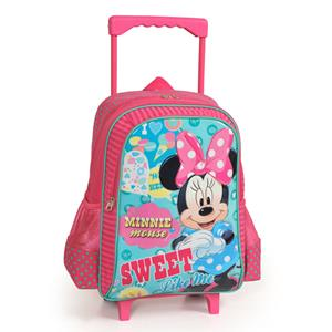 MINNIE MOUSE ÇEK ÇEK OKUL ÇANTASI 73127