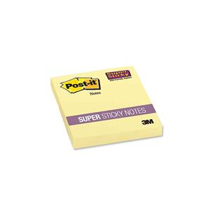 3M POST-IT 654-S SUPER STICKY KANARYA SARISI KÜP 76x76 90YP.