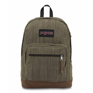JANSPORT RIGHT PACK EXPRESSIONS ARMY GREEN MELANGE SIRT ÇANTASI