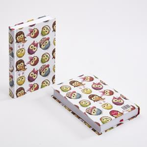 TRUFFY NOTEBOOK 304414 OWLS 10.5X15.5