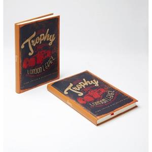 TRUFFY NOTEBOOK 304537 TROPHY 14X20 STRISPED