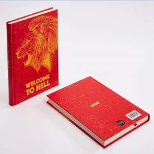 TRUFFY NOTEBOOK 304605 LION 14X20 STRISPED
