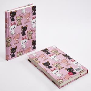 TRUFFY NOTEBOOK 304896 CUTE CATS 14X20
