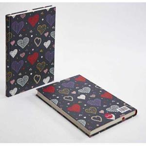 TRUFFY NOTEBOOK 305077 HEARTS 17X24