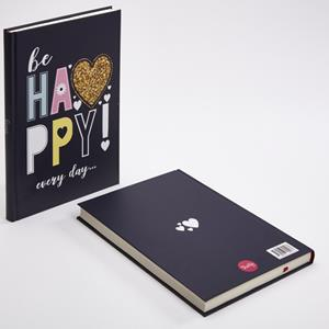 TRUFFY NOTEBOOK 305183 BE HAPPY 17X24