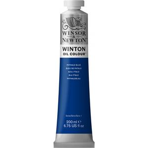 WINSOR & NEWTON WINTON YAĞLI BOYA 200 ML  PHTHALO BLUE -1437516