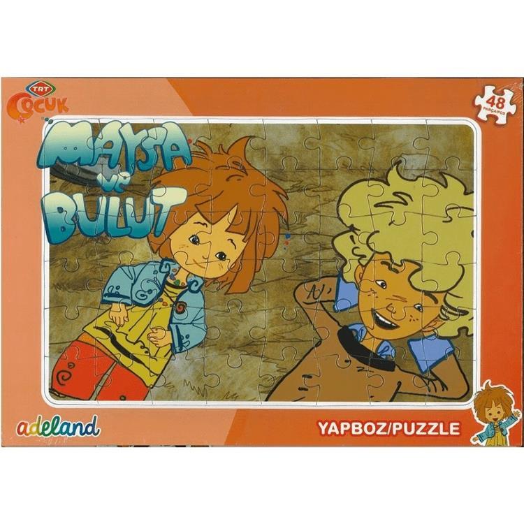 Adeland Trt Cocuk Frame Yapboz Puzzle 48 Parca 24x34 Cm Maysa