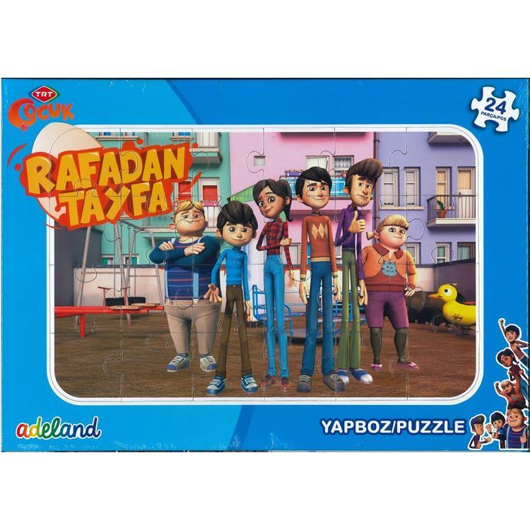 Adeland Trt Cocuk Frame Yapboz Puzzle 24 Parca 24x34 Cm