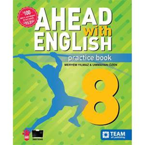 TEAM 8. SINIF AHEAD WITH ENGLISH PRACTICE BOOK