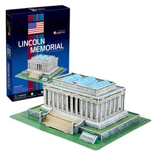 NECOTOYS CUBIC FUN C104H LINCOIN ANITI - AMERİKA 3D PUZZLE