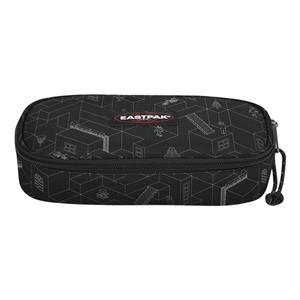 EASTPAK OVAL SINGLE BLOCKS BLACK KALEM ÇANTASI VFE- EK717C511