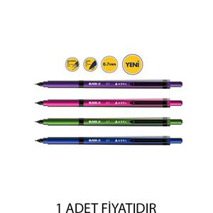 ADEL BLACKLINE  0.7mm MEKANİK VERSATİL KALEM