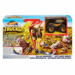 MATTEL FG963/GCG00 HOTWHEELS MONSTER TRUCKS BIG AIR BREAKOUT