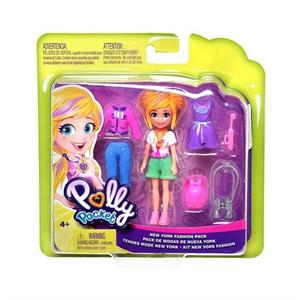 MATTEL GDM01 POLLY POCKET VE MODA AKSESUARLARI SETİ