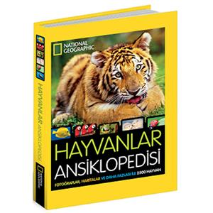 NATIONAL GEOGRAPHIC KIDS - HAYVANLAR ANSİKLOPEDİSİ (Ciltli)