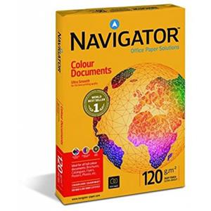 NAVİGATOR A4 120GR COLOUR DOCUMENTS FOTOKOPİ KAĞIDI 250'Lİ