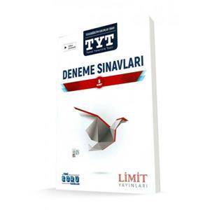 LİMİT  TYT 5 DENEME SINAVI